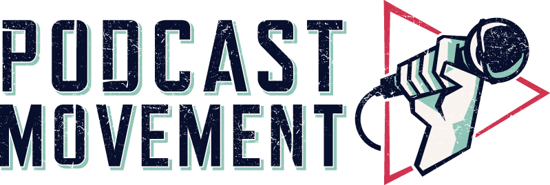 Podcast movement logo in the potential millionaire with Felix A. Montelara